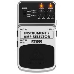 AB100 Instrument Amp Selector Pedale Behringer