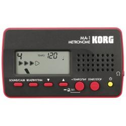 MA-1 Black Red accordatore digitale - metronomo Korg