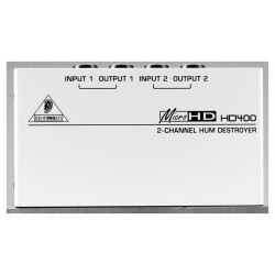 MICROHD HD400 ultra-Compact 2-Channel Behringer