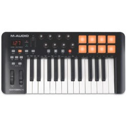 Oxygen 25 Keyboard controller MIDI USB M-Audio