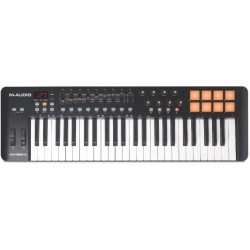Oxygen 49 Keyboard controller MIDI USB M-Audio