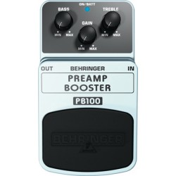 PB100 preamp booster effetto a pedale Behringer
