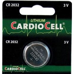 CR2032 batteria cardiocell