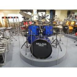 DS-012 Drum Set 5 pezzi blu Mi.Lor Drum