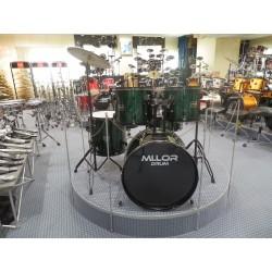 DS-003 Drum Set 5 pezzi verde Mi.Lor Drum