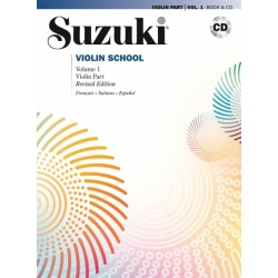 MB295 Suzuki violin school volume 1
