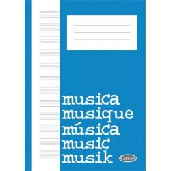 MK11520 Quaderno di Musica (Block, Cahier de Musique)