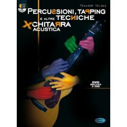 ML3038 Percussioni, Tapping e altre Tecniche per Chitarra Acustica