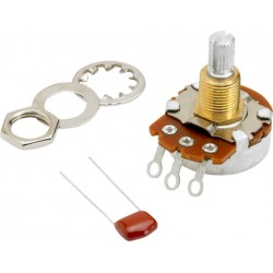 500K Split Shaft Potentiometer (Vol or Tone) Fender