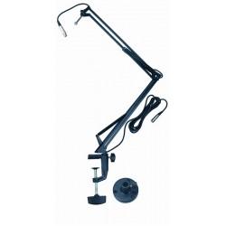A25 BK supporto per microfono QuikLok