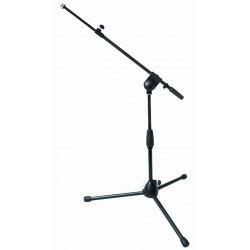 QuikLok A496BK asta microfono bassa giraffa telescopica