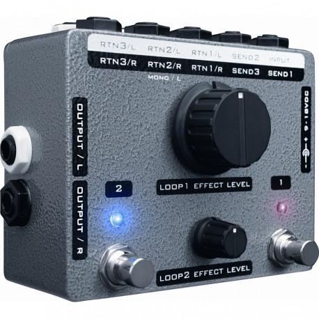Stereo X-Blender Custom Shop pedale chitarra elettrica Xotic