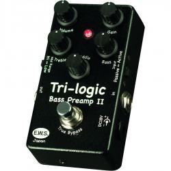 Tri-logic Bass Preamp 2 pedale per basso