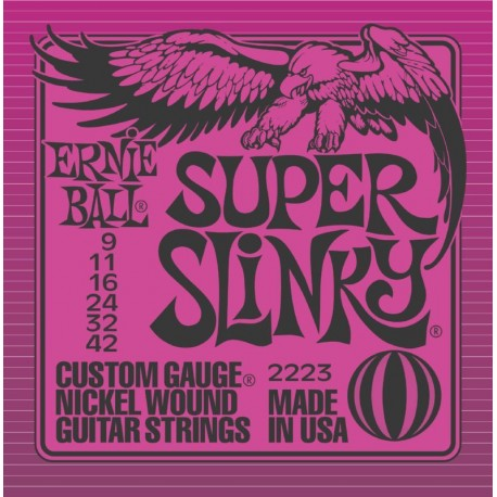 2223 Super Slinky muta elettrica Ernie Ball