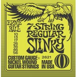 2621 7-String Regular Slinky Ernie Ball