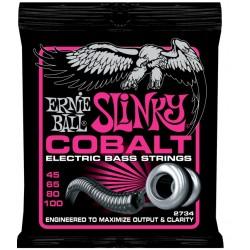 2734 Cobalt Super Slinky Bass muta basso 4 corde Ernie Ball