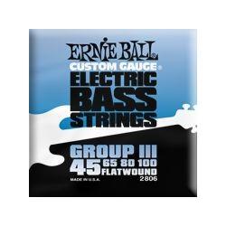 2806 Group III Flatwound muta per basso Ernie Ball