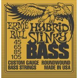 Ernie Ball 2833 Hybrid Slinky Bass muta basso 4 corde