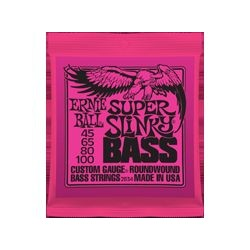 Ernie Ball 2834 Super Slinky Bass muta basso 4 corde