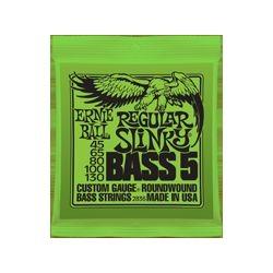 2836 Regular Slinky Bass muta basso 5 corde Ernie Ball