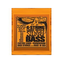2838 6-String Long Scale Slinky Bass Ernie Ball