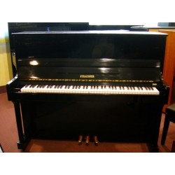 Pianoforte verticale 121 nero Strausser