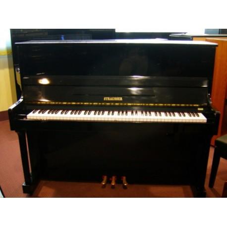 Strausser Pianoforte verticale 121 nero - Strumenti Musicali Marino Baldacci