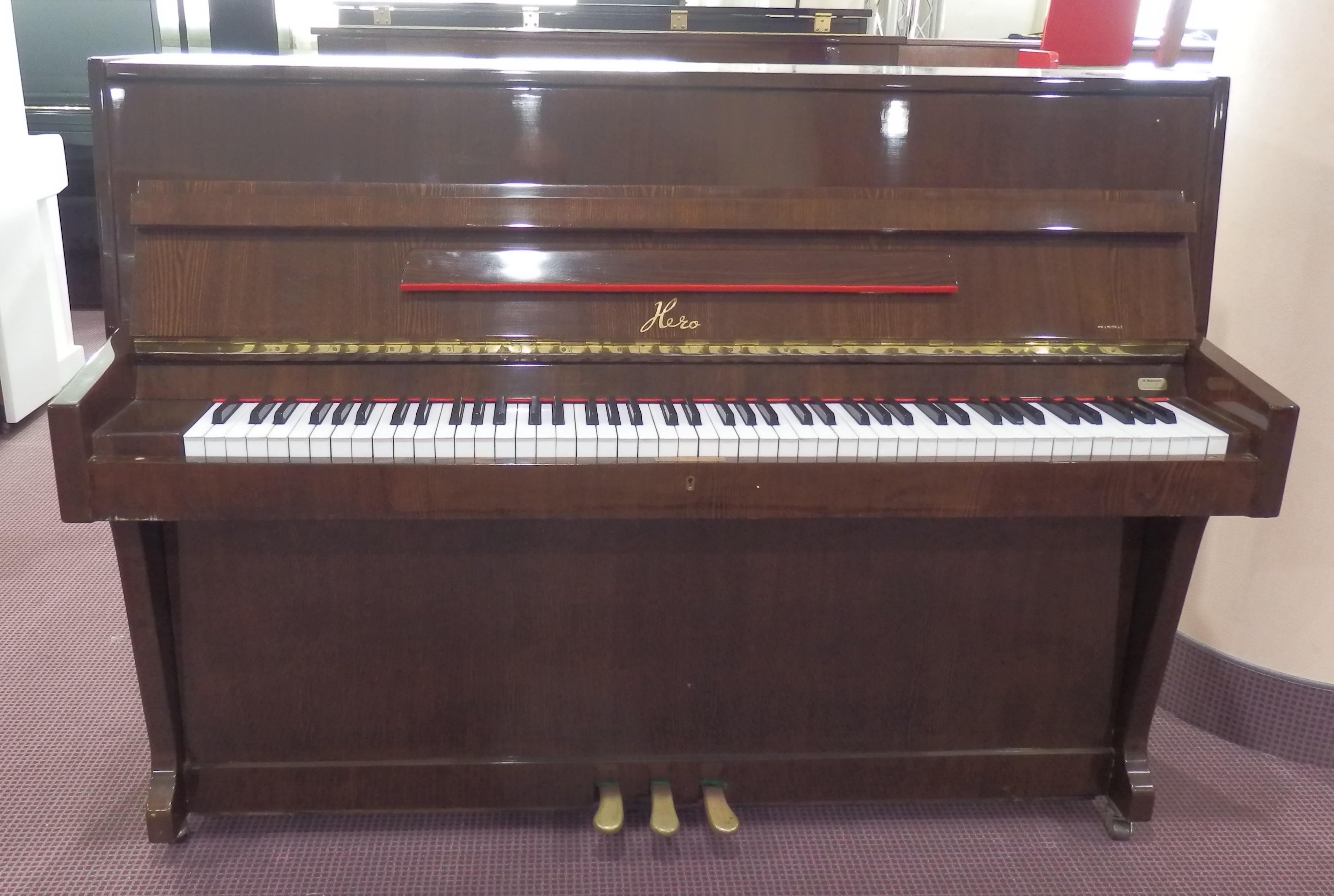 Pianoforte noce 108 usato hero strumenti musicali marino baldacci
