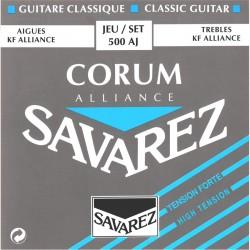 500AJ Set Tensione Forte muta classica Savarez