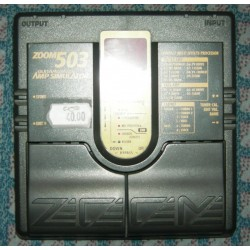 Zoom 503 Amp Simulator multieffetto per chitarra usato