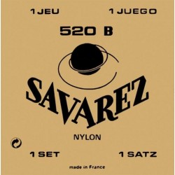 520B Set Tensione Bassa muta classica Savarez