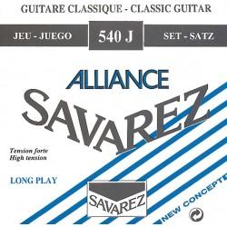 540J Set Tensione Forte muta chitarra classica Savarez