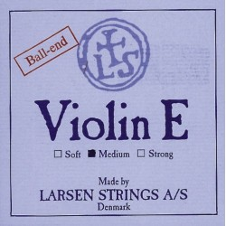 Larsen corde per violino Synthetic-Fiber Core