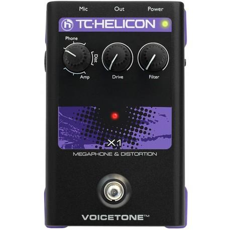 VoiceTone X1 effetto voce TC Helicon