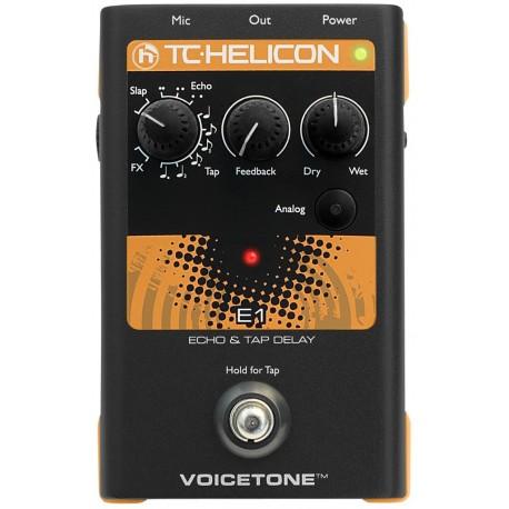 TC Helicon VoiceTone E1 effetto voce