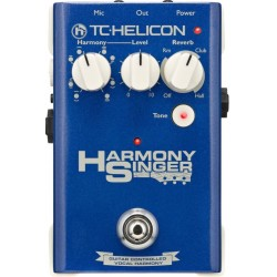 Harmony Singer effetto voce TC Helicon