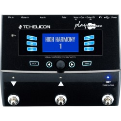 Play Acoustic Vocal+Harmony FX guitar FX TC Helicon
