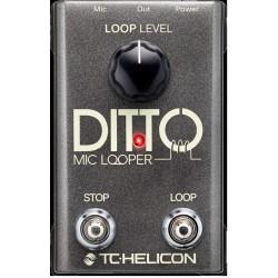 Ditto Mic Looper per cantanti e strumenti microfonati TC-Helicon