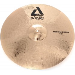 Paiste Alpha Brilliant 18 Medium Crash piatto