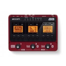 B3 pedaliera multieffetto e amp-simulator per basso Zoom
