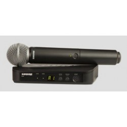 BLX24ESM58 radiomicrofono Shure