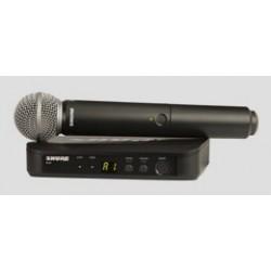 Shure BLX24ESM58 radiomicrofono