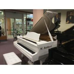 B.Steiner BSIG-61D pianoforte ½ coda bianco usato