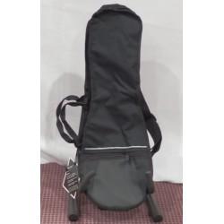BX609 borsa nera per ukulele soprano Stefy Line Bags