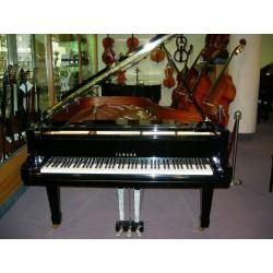 C7 pianoforte a coda nero lucido usato Yamaha
