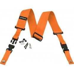 DD2200N Nylon ClipLock - arancione neon - DD2200OR DiMarzio