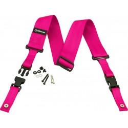 DD2200N Nylon ClipLock - rosa neon - DD2200PK DiMarzio
