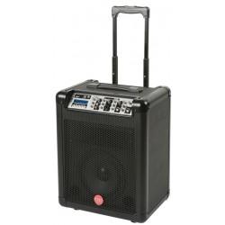 DUEL-WS sistema portatile amplificato completo di radiomicrofono HT-16 FiveO by Montarbo