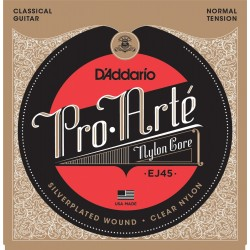 D'Addario EJ45 Pro-Arte in nylon per chitarra classica, tensione normale