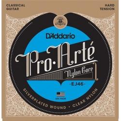 D'Addario EJ46 Pro-Arte in nylon per chitarra classica, tensione forte